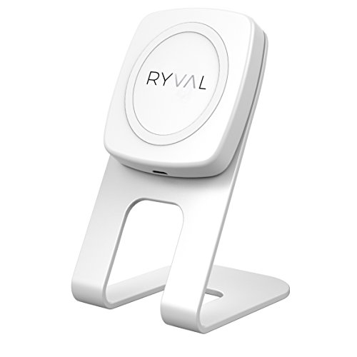 Ryval Qi magnetische oplader, wit