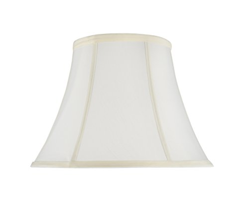 Aspen Creative 30216 Transitional Bell Shaped Construction White, 13