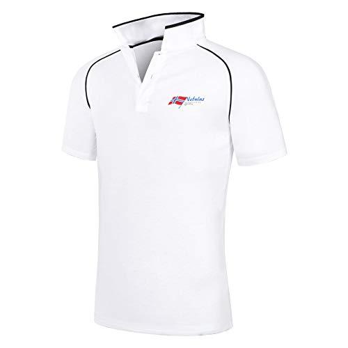 Nebulus Poloshirt Oceans Herren, weiß - XL
