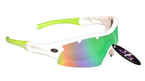 RayZor Professionelle Cricket-Sonnenbrille (70 Modelle in Anzeige) Sport-Sonnenbrille für Damen und Herren Sport Wrap Eyewear UV400 Brille Blendfrei Bruchsicher