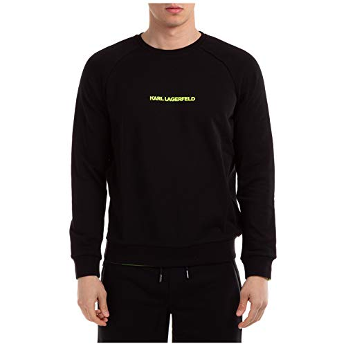 Preisvergleich Produktbild Karl Lagerfeld Herren Sweatshirt Nero S