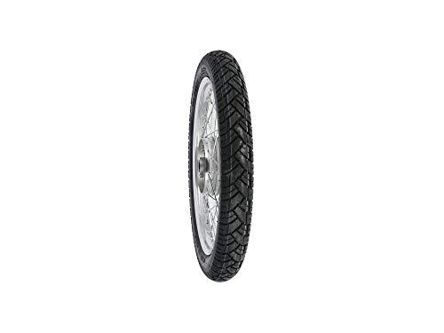 SIMSON-ensemble roue avant - 1,6 x 16, jante en aluminium poli, conception large)-pneu veeRubber vRM094 moyeu monté : (graugussbremsring (gG) abgedrehte arêtes)