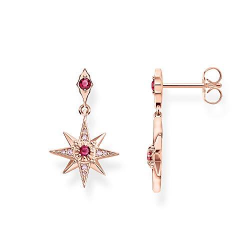 Thomas Sabo Damen-Ohrringe Stern Rosé 925 Sterlingsilber roségold vergoldet H2076-626-10