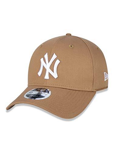 BONE 39THIRTY MLB NEW YORK YANKEES ABA CURVA STRETCH FIT KAKI New Era