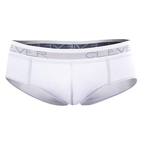 Clever Moda Classic Brief, sous-Vêtement Homme, Blanc. Ta. M
