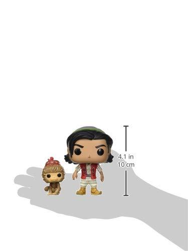 Funko- Pop Vinile: Disney: Aladdin (Live Action): Aladdin & Abu Figura da Collezione, Multicolore, 37022