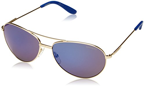 Carrera Ca69s, Gafas de sol Unisex Adulto, Oro Mate/Gris (SMTT Gold/Blue), 60 mm