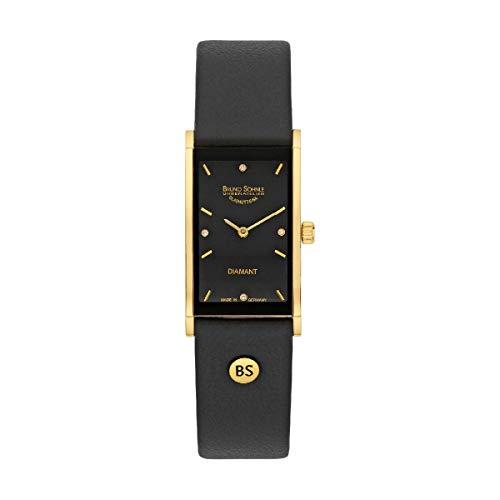 Bruno Söhnle Damen Analog Quarz Uhr mit Leder Armband 17-33099-791