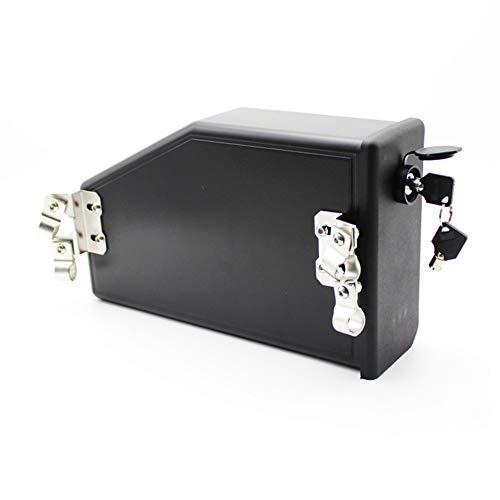 Cicony Caja de herramientas para motocicleta de aleación de aluminio para BMW...