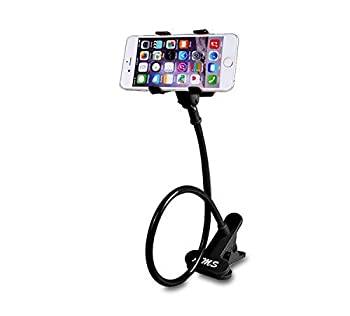 AMS Universal Cell Phone Holder Clip Holder Lazy Bracket Flexible Long Arms for All Mobile Fit On Desktop Bed Mobile Stand for Bedroom Office Kitchen
