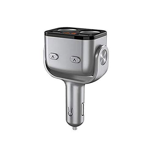 Qilo Cigarrillos del Coche Cargador 3.4a Auto Partes Coche Cargador de Coche más Ligero Dos Arrastrado USB del Doble de múltiples Funciones del teléfono móvil de uno de Dos sockets Point