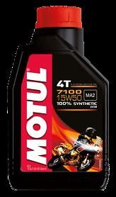 MOTUL HUILE 4T 7100 15W50 100 % SYNTHÉTIQUE