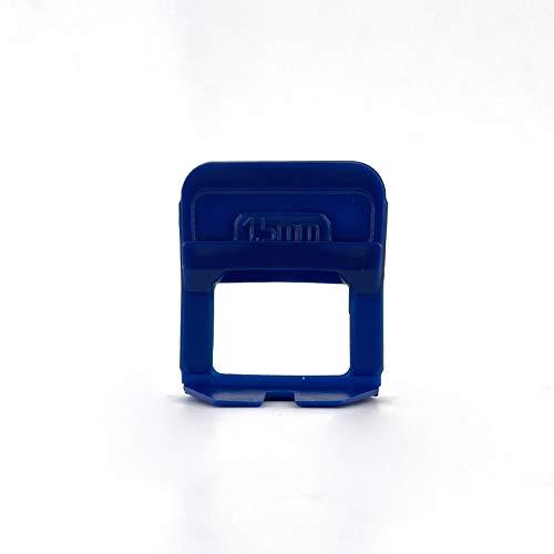 Kit fabricado en Italia de 601 piezas compuesto por 500 bases tensoras de 1,5 mm + 100 cuñas reutilizables + 1 pinza.