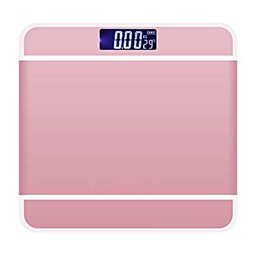 ÉChelle De Poids LCD NuméRique,Impedancemetre éChelle De Graisse Corporelle d'une Capacité De 180 Kg, Balance ConnectéE éLectronique Poids Mesure Haute PréCision(#1)