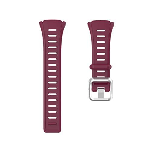 NICERIO Compatible para Polar Ft60 Correa TPU Reloj Inteligente Banda de Reemplazo de Liberación Rápida Reloj Pulsera para Hombres Mujeres 16Mm 22Mm