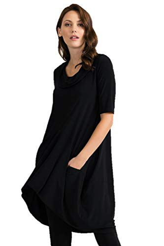 Joseph Ribkoff Black Tunic/Dress Style 201079 - Spring 2020 Collection (12)