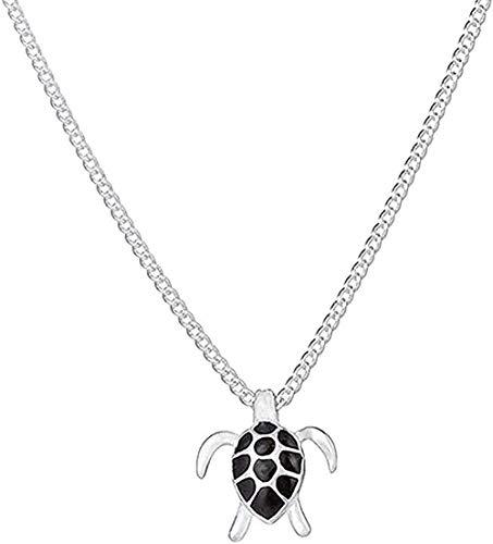 N-G Necklace Fashion Animal Turtle Necklace & Pendants Tortoise Multi Necklace Women Sea Jewelry Sweater Necklace