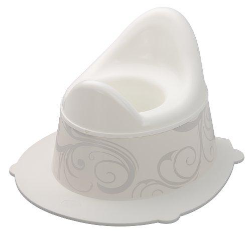 Rotho Babydesign Pot pour Enfants Vintage StyLe!, Avec Partie Supérieure Amovible, À partir de 18 Mois, StyLe!, Blanc, 202130195AJ