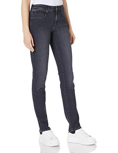 Wrangler Slim Jeans, Ángel Negro, 28W x 32L para Mujer