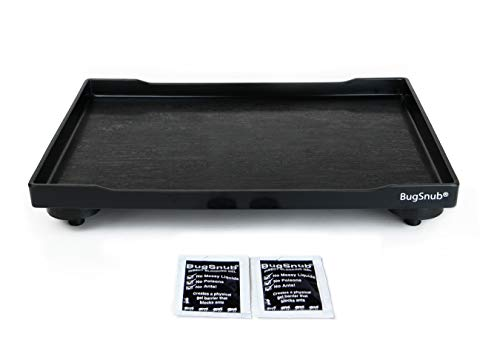 BugSnub Ant Proof Tray (Black) - Waterless