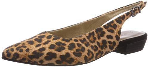 Tamaris Damen 1-1-29433-32 273 Slingback Pumps Braun (Leopard 273), 37 EU