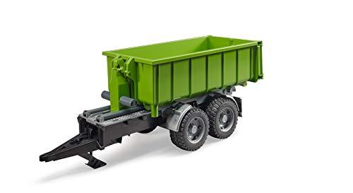 Bruder 02035 - Hakenlift-Anhänger für Traktoren