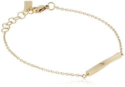 Hugo Boss Damen-Armband Signature Edelstahl One Size Gold 32012832