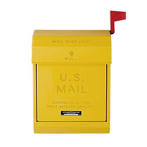 ART WORK STUDIO メールボックス2 U.S. Mail box 2 [ イエロー / TK-2078 ]