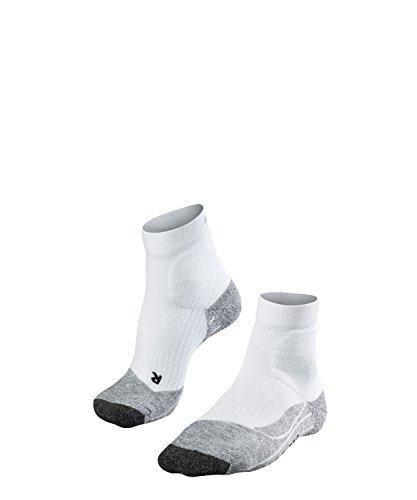 FALKE Damen, Socken TE2 Short Baumwollmischung, 1 er Pack, Weiß (White-Mix 2020), 37-38