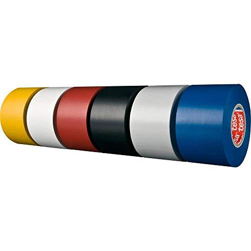 tesa 04163-00005-07 04163-00005-07 Isolierband tesaflex® 4163 Lichtgrau (L x B) 33 m x 19 mm 33 m