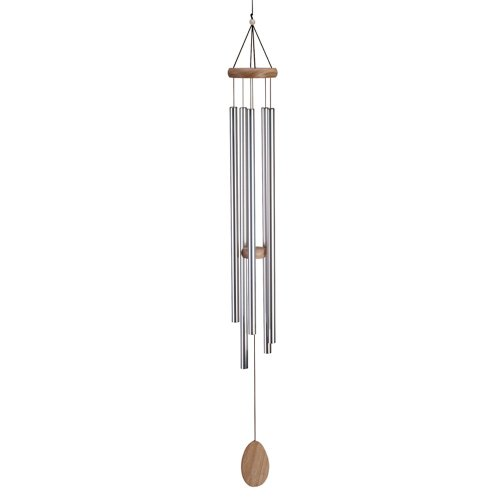 Natural Wood Church Bells Tuned Pipe Wind Chimes Garden