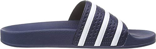 adidas Mens Adilette Blue White Synthetic Sandals 43 1/3 EU