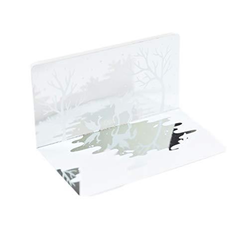 Tutte Le Occasioni Carta di Ringraziamento con Busta Specchio Dream Greeting Card Biglietto d'auguri di Natale Regalo di Compleanno