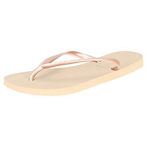 Havaianas Slim 4000030, Infradito Donna, Marrone (Rose Gold 3581), 39/40 EU
