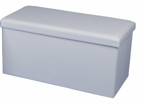 ECHTWERK Sitzbank, Weiß, 76 x 38 x 38 cm