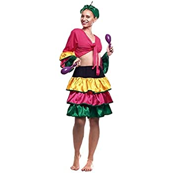 Creaciones Llopis- Disfraz Adulto, Multicolor (4969-AM): Amazon.es ...