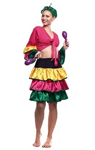 Partylandia Disfraz de Brasileña Corto - Mujer, M