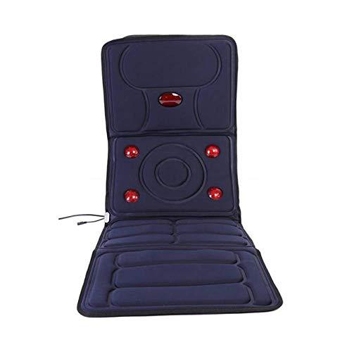 JOSN Mat Massaggio con Funzione di Riscaldamento - digitopressione Lettino da Massaggio massaggiatore Pieghevole - Massaggio Testa-Materasso, per alleviare Il Dolore al Collo Schiena Vita Anca