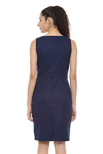Van Heusen Woman Women's Crepe A-Line Knee-Length Dress