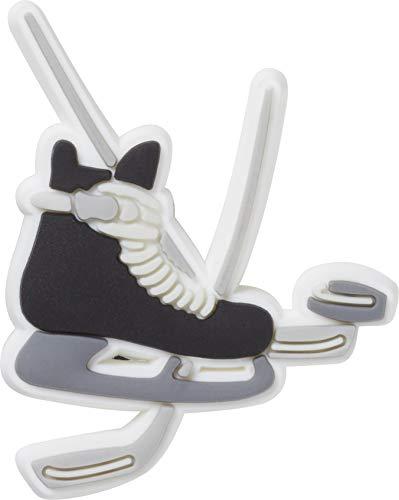 Crocs Unisex-Erwachsene Jibbitz Sport- und Freizeitschuh-Charm | Personalisieren mit Jibbitz für Crocs, Mehrfarbig (Hockey-Skate), Small