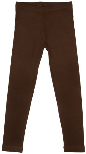 Back From Bali Little Girls Leggings Brown Large