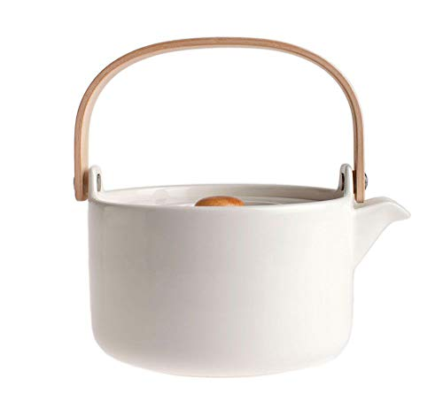 Marimekko - Oiva Teekanne, weiß