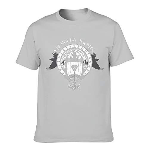 FFanClassic Camiseta Hombre Algodón Vikingo Cool Individuality - Manga Corta