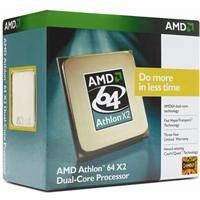 AMD Athlon 64 X2 5200+ - Procesador (AMD Athlon X2, 2,6 GHz, Socket AM2, 90 nm, 2000 MHz, 1 MB)