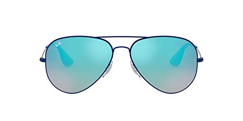 Ray-Ban RB3558-8053672695854 RB3558-8053672695854 Aviator Sonnenbrille 58, Blue