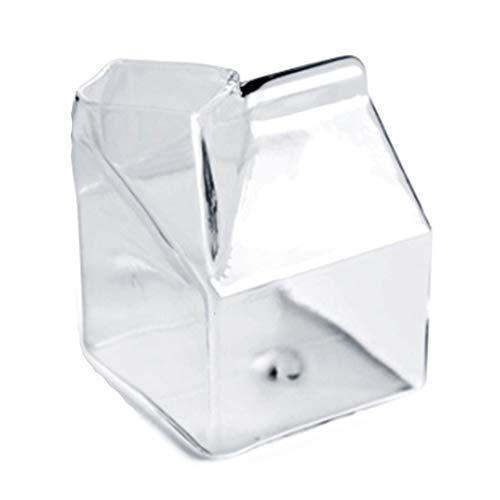 Camisin El horno de microondas cuadrado del cartón de la leche de la taza de la leche puede ser calentado Home Breakfast Cup