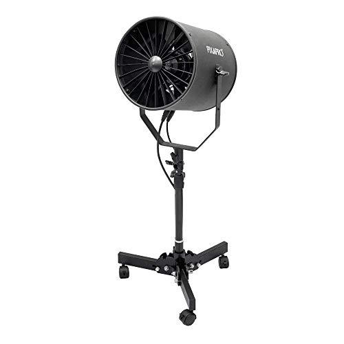 Pixapro® Ajustable Velocidad Estudio Profesional Máquina Viento Studio + Ventilador Suelo bajo Soporte *Rapido* UK Stock* Vat Registrado