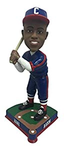 Hank Aaron Indianapolis Clowns Limited Edition Bobblehead - Numbered to 2,019 - Negro Leagues - Atlanta and Milwaukee Braves