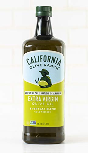 California Olive Ranch Destination Series Everyday Extra Virgin Olive Oil – Cooking & Baking Cold Pressed, Blended EVOO…