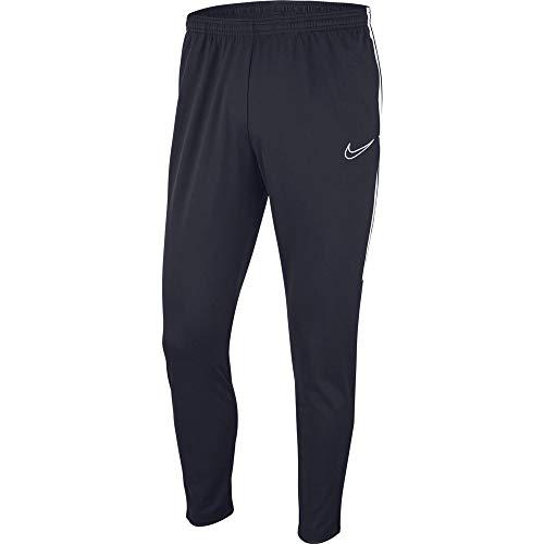 Nike Academy 19, Pantaloni Uomo, Nero_Blu_Bianco, M